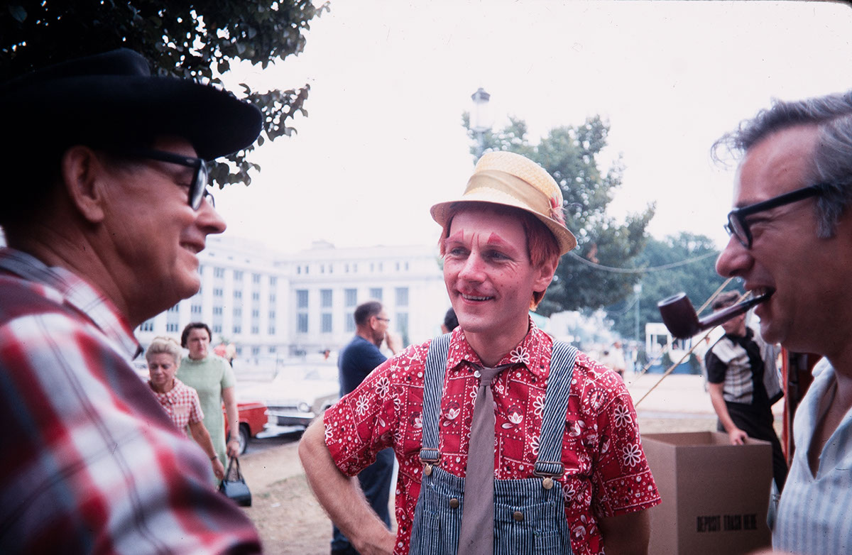 Photo from the 1969 Festival of American Folklife