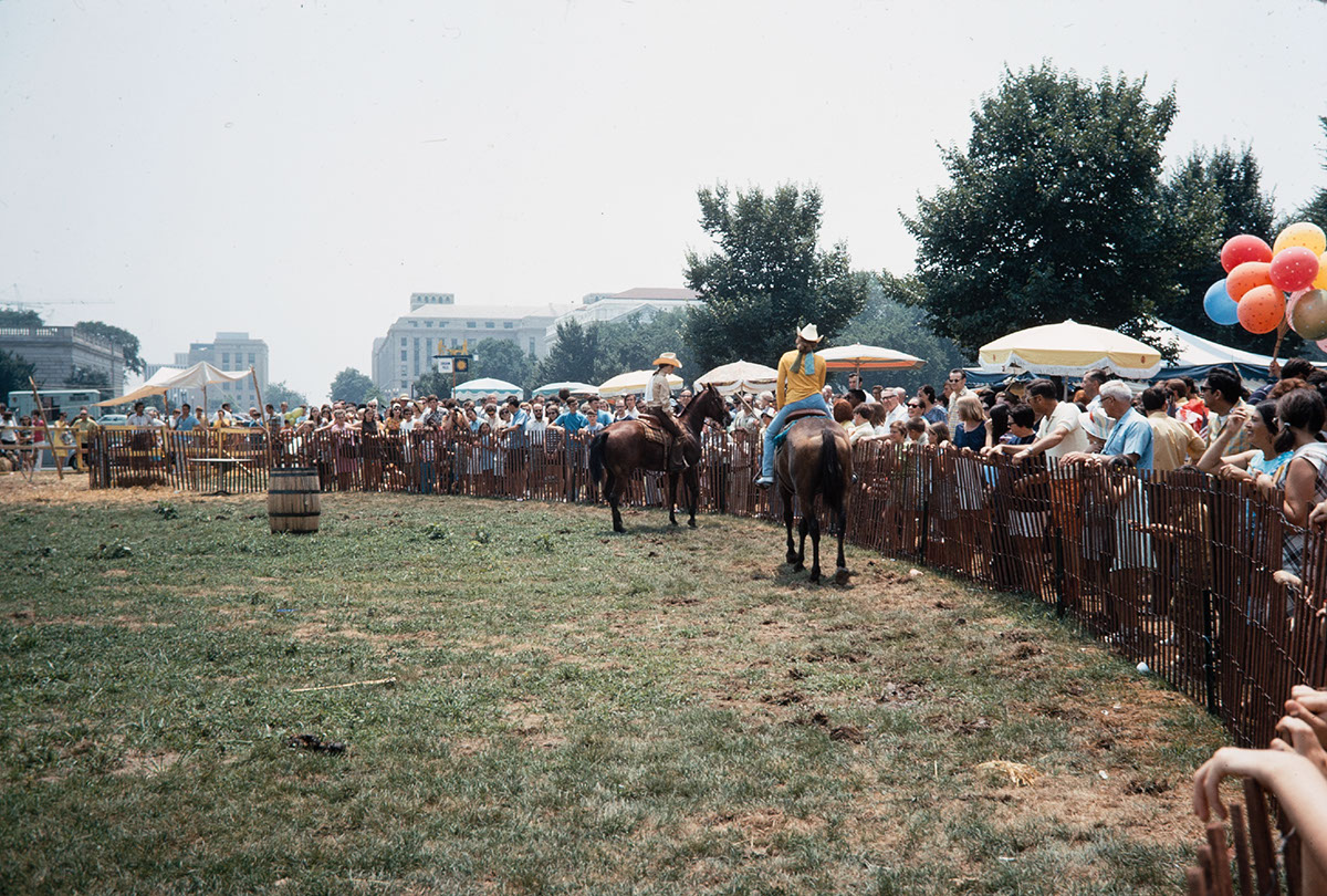 Photo from the 1970 Festival of American Folklife