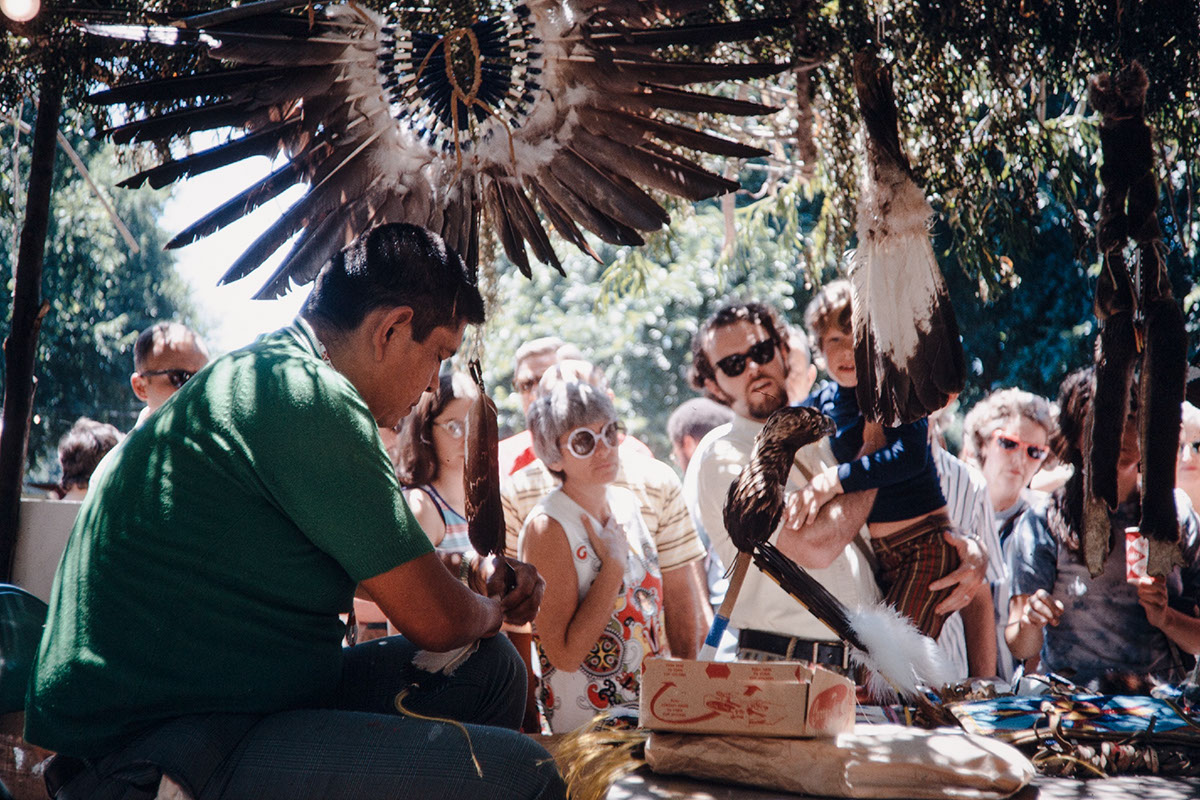Photo from the 1971 Festival of American Folklife