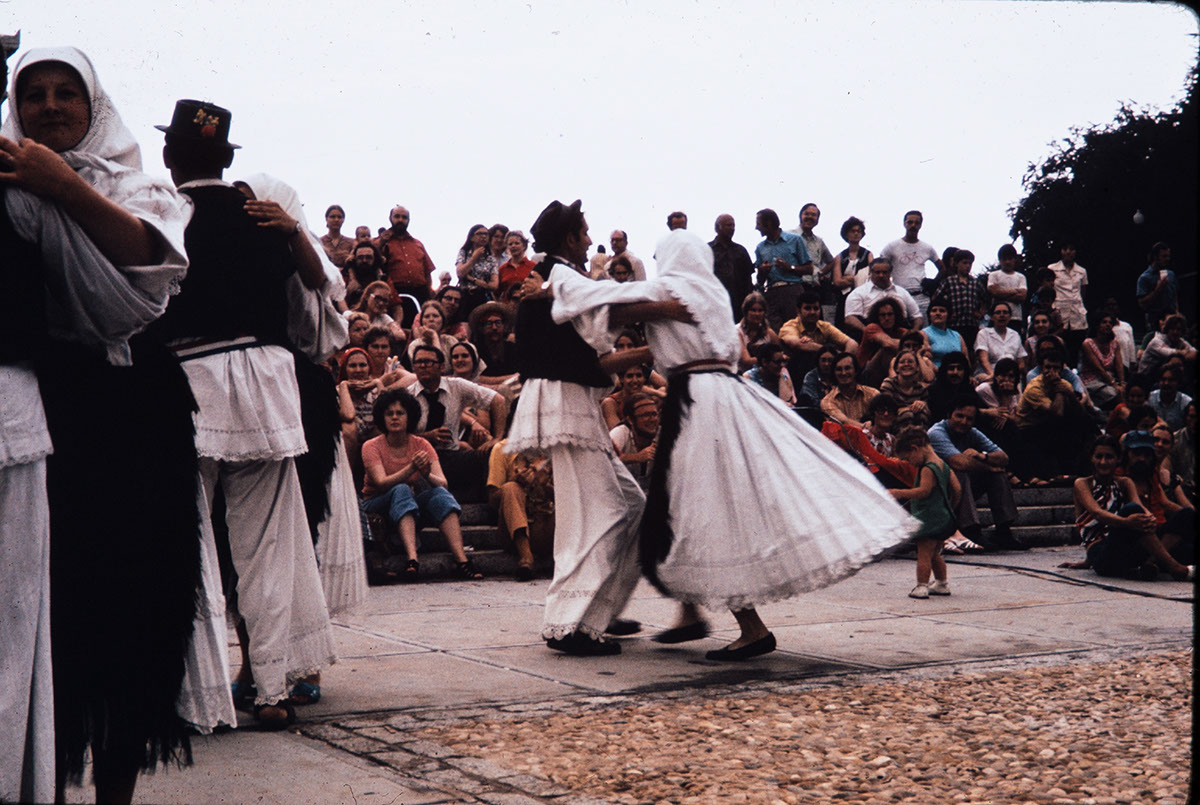Photo from the 1973 Festival of American Folklife