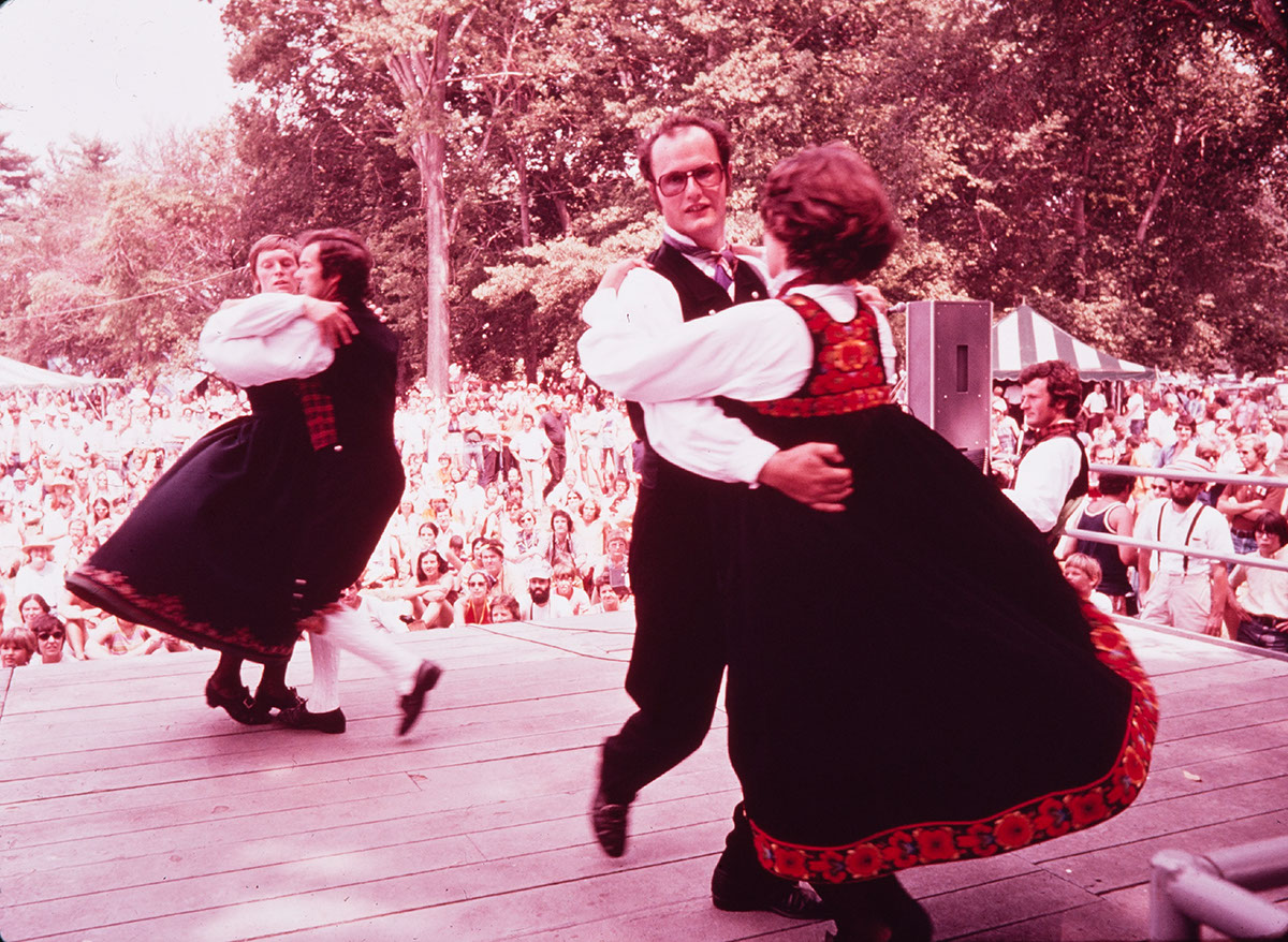 Photo from the 1974 Festival of American Folklife