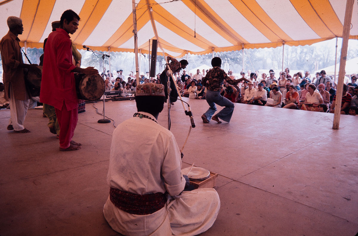 Photo from the 1975 Festival of American Folklife