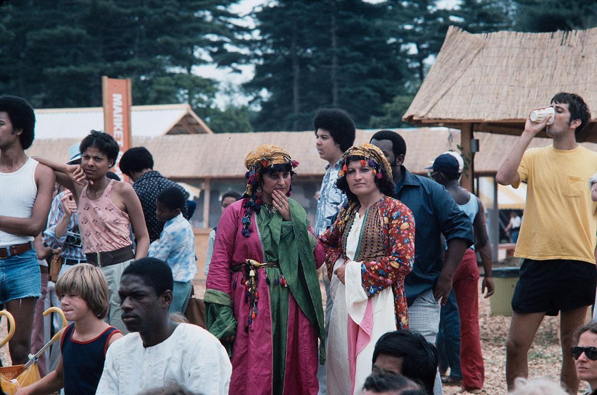 Photo from the 1976 Festival of American Folklife
