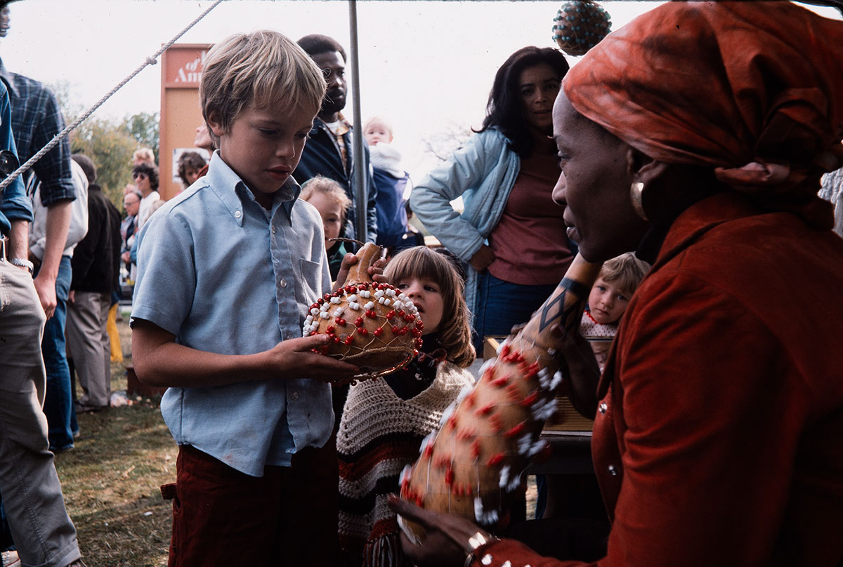 Photo from the 1977 Festival of American Folklife