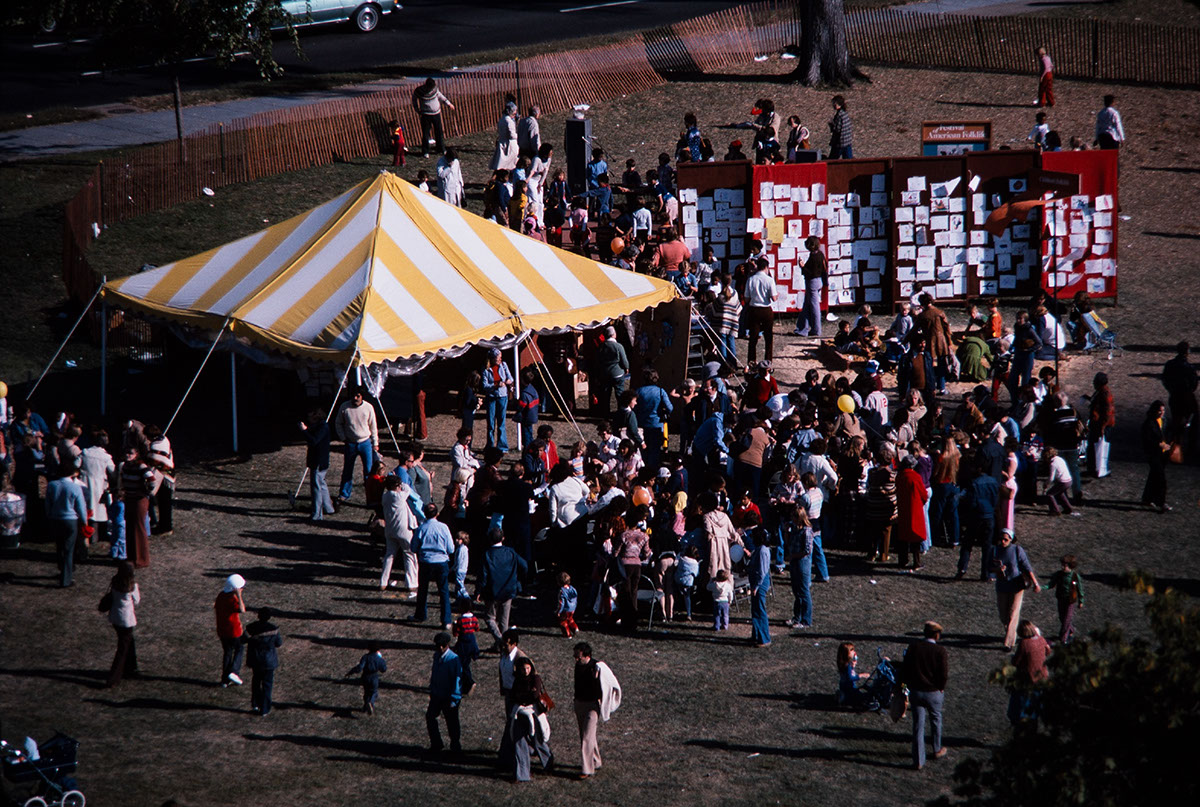 Photo from the 1978 Festival of American Folklife