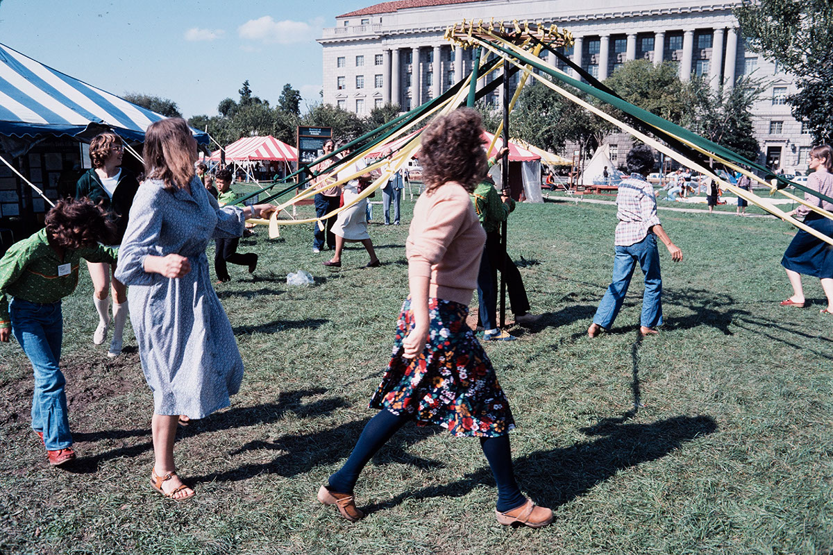 Photo from the 1979 Festival of American Folklife