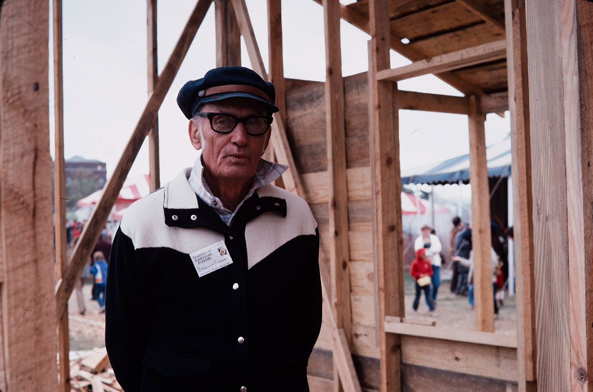 Photo from the 1980 Festival of American Folklife