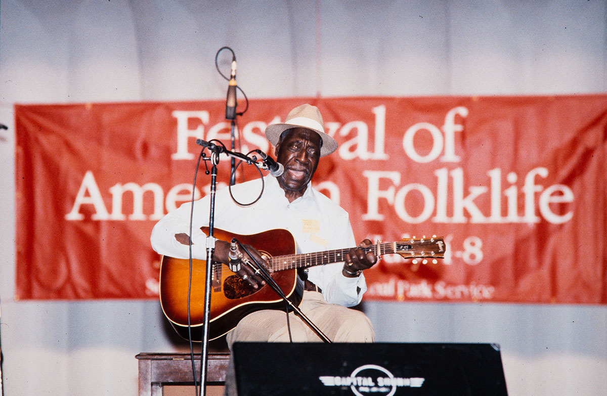 Photo from the 1984 Festival of American Folklife