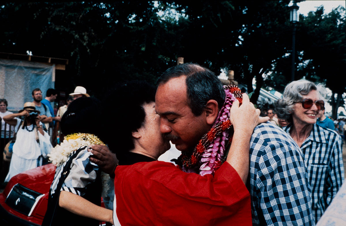 Photo from the 1989 Festival of American Folklife