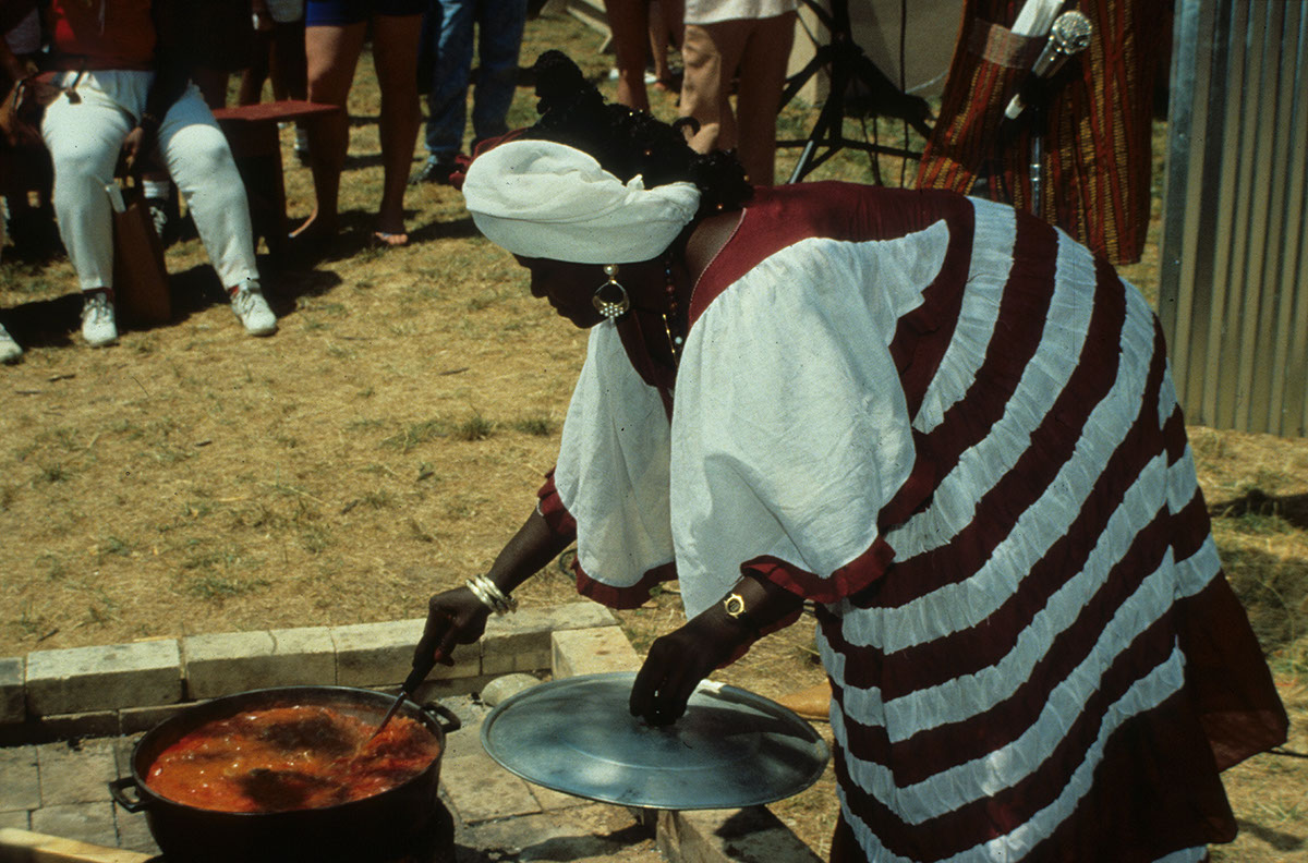 Photo from the 1990 Festival of American Folklife