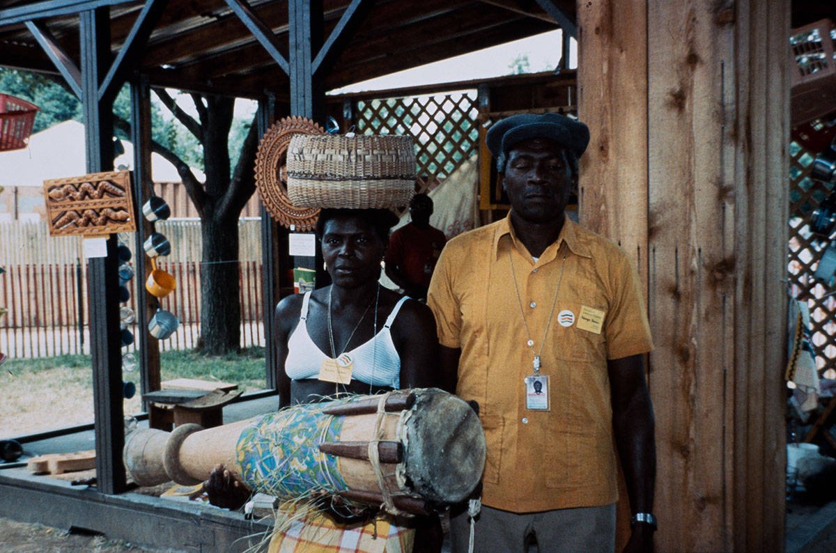 Photo from the 1992 Festival of American Folklife