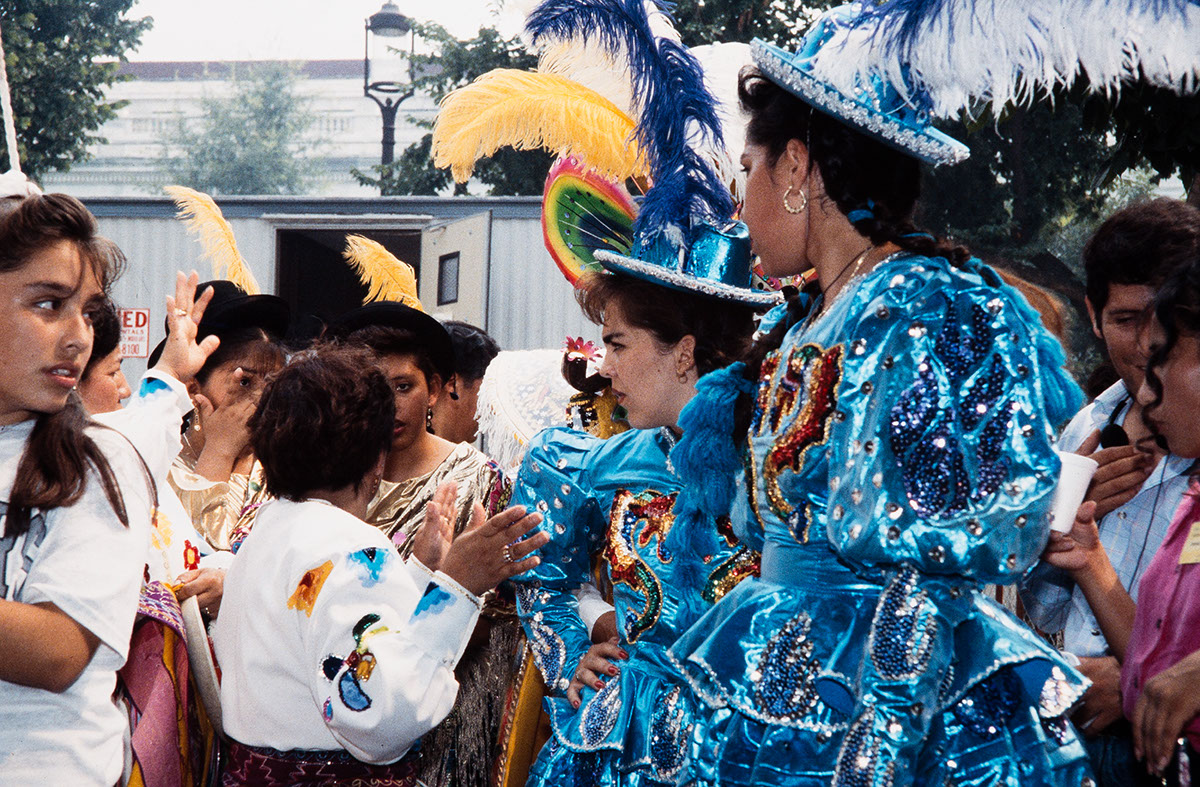 Photo from the 1993 Festival of American Folklife