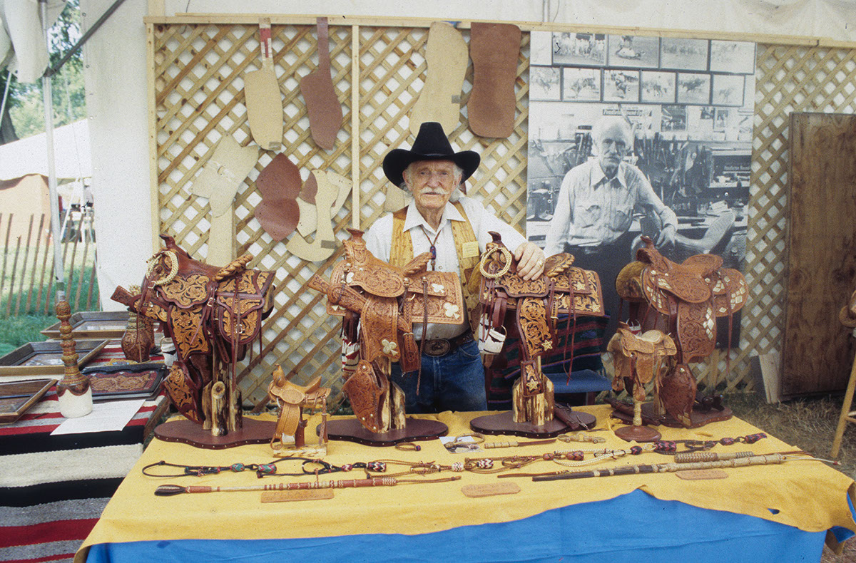 Photo from the 1994 Festival of American Folklife