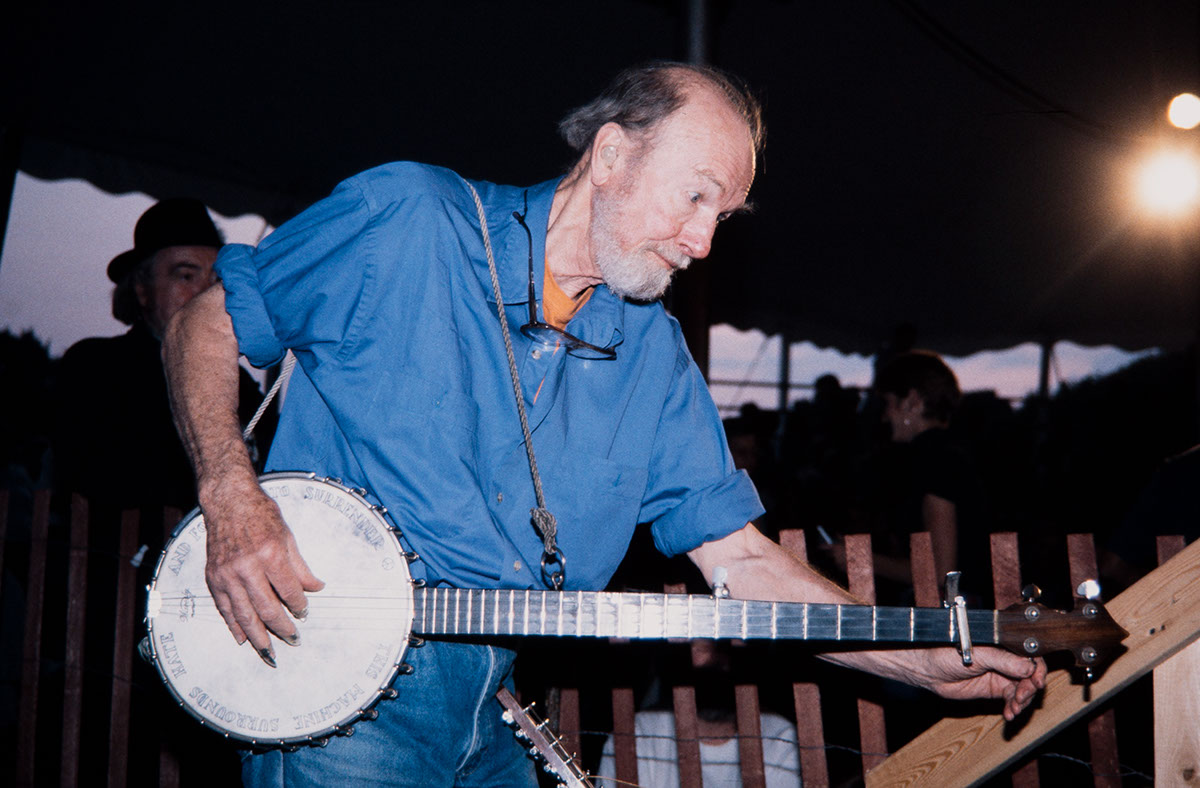 Photo from the 1995 Festival of American Folklife