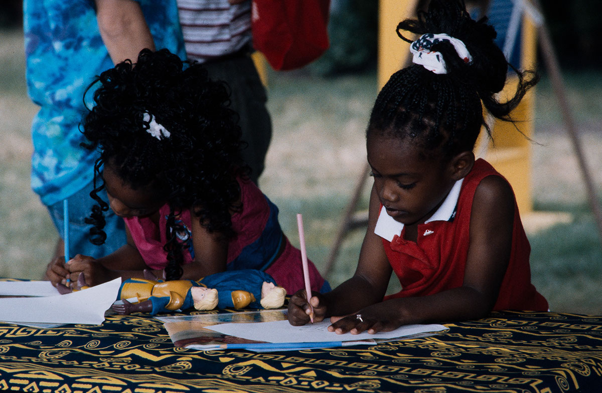 Photo from the 1996 Festival of American Folklife