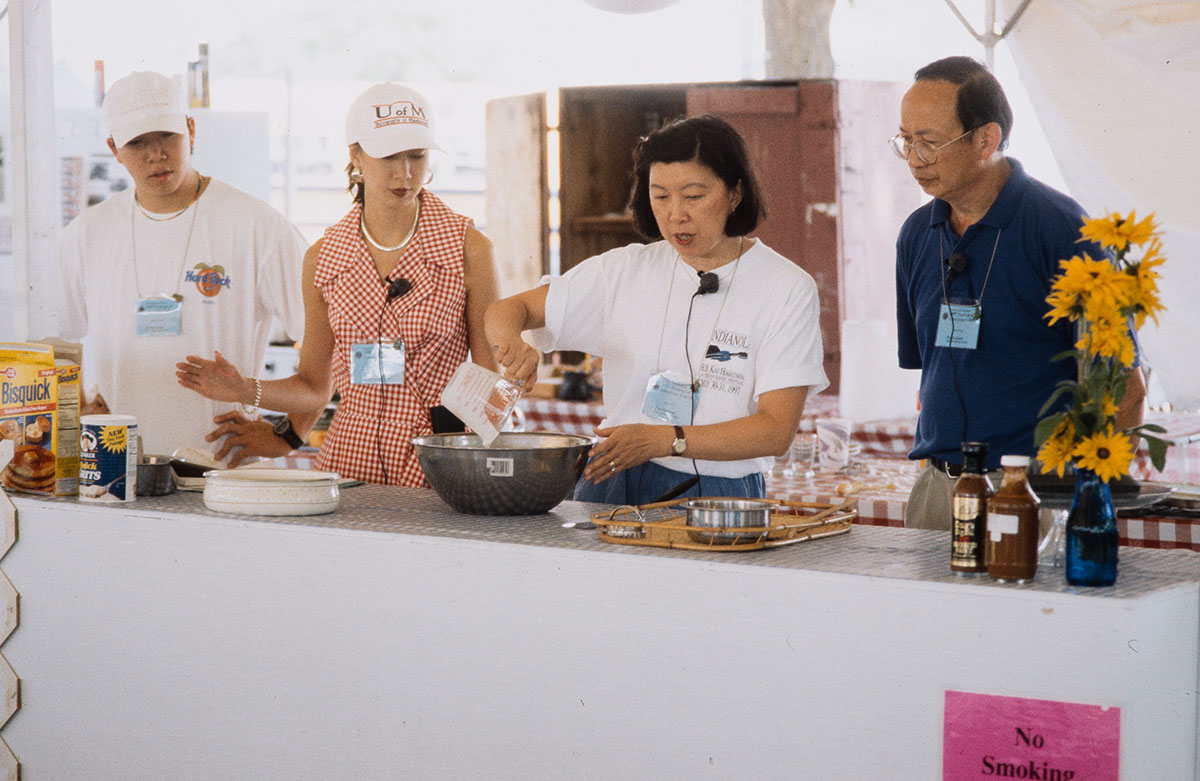 Photo from the 1997 Festival of American Folklife