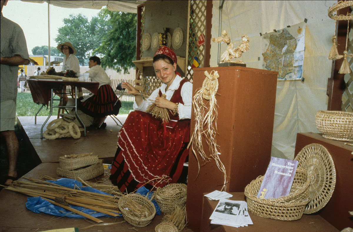 Photo from the 1999 Smithsonian Folklife Festival