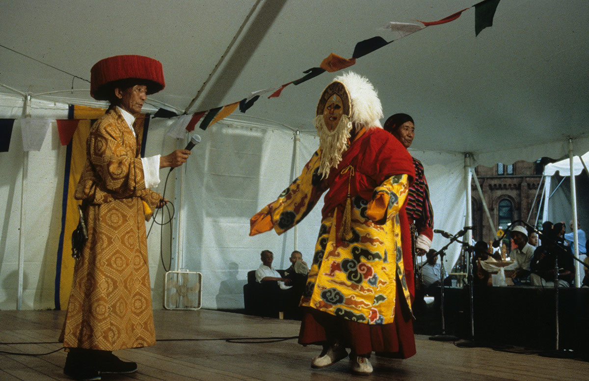 Photo from the 2000 Smithsonian Folklife Festival