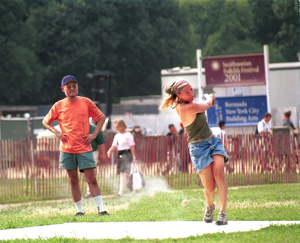 Photo from the 2001 Smithsonian Folklife Festival