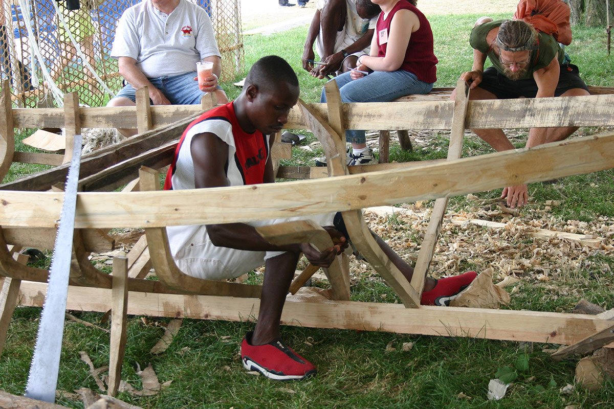 Photo from the 2004 Smithsonian Folklife Festival