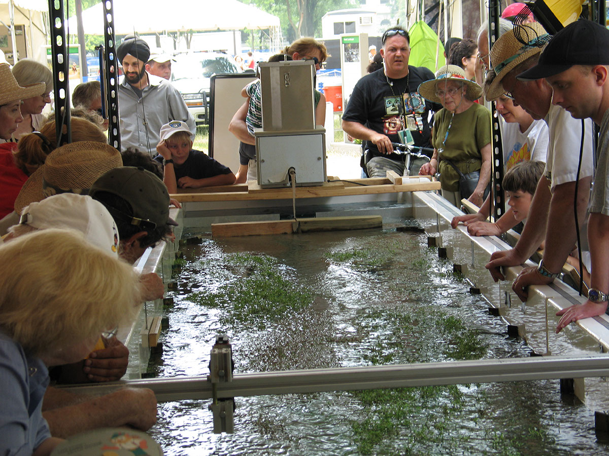 Photo from the 2005 Smithsonian Folklife Festival