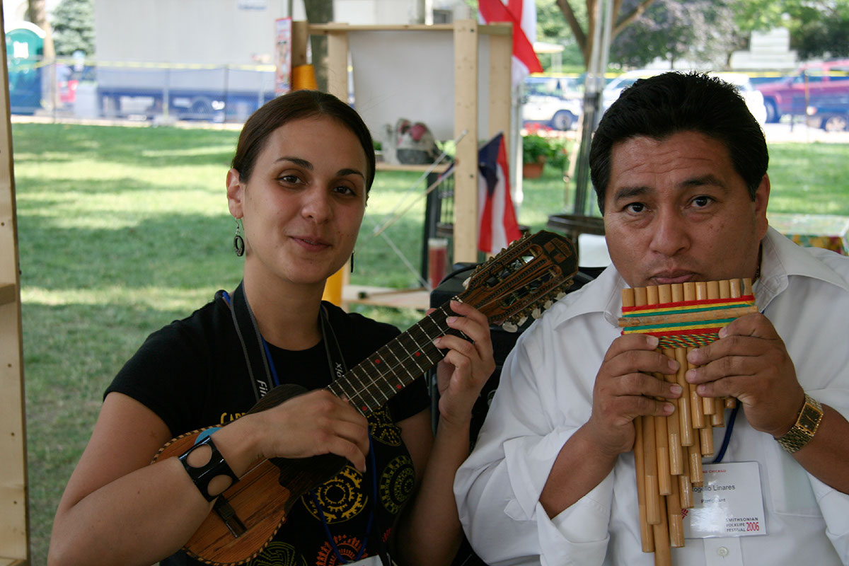 Photo from the 2006 Smithsonian Folklife Festival