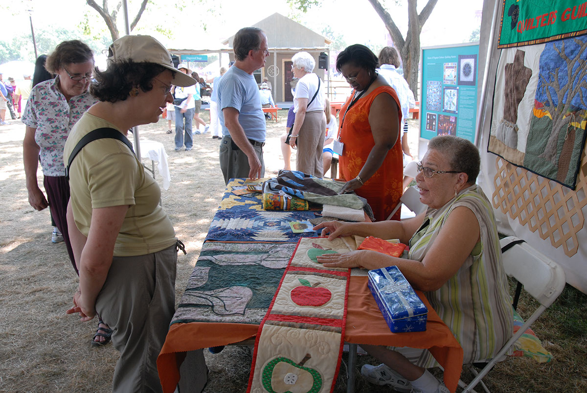Photo from the 2007 Smithsonian Folklife Festival