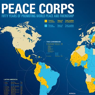 The Peace Corps Around the World